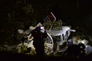 Así quedó la avioneta de la producción de Tom Cruise que se estrelló en Antioquia y dejó dos muertos 4