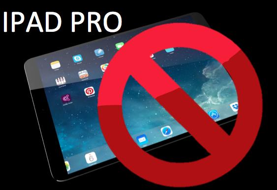 4 razones por las que no se deberías comprar el nuevo iPad Pro