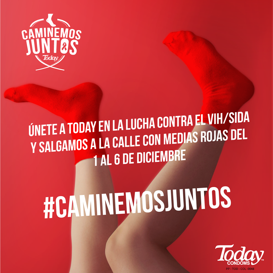 CaminemosJuntos  condones today campaña juanpis, tecnomarketingnews