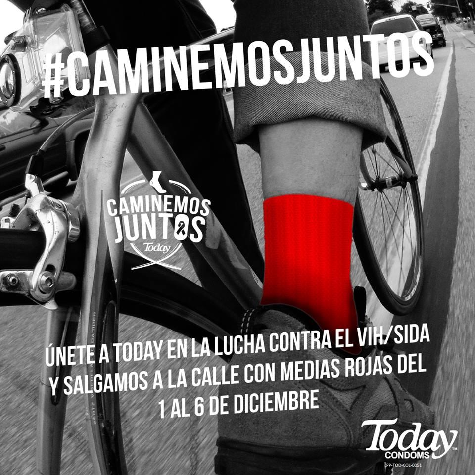 CaminemosJuntos  condones today campaña juanpis