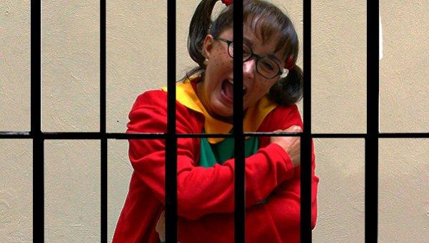 La Chilindrina, en prisión en Paraguay