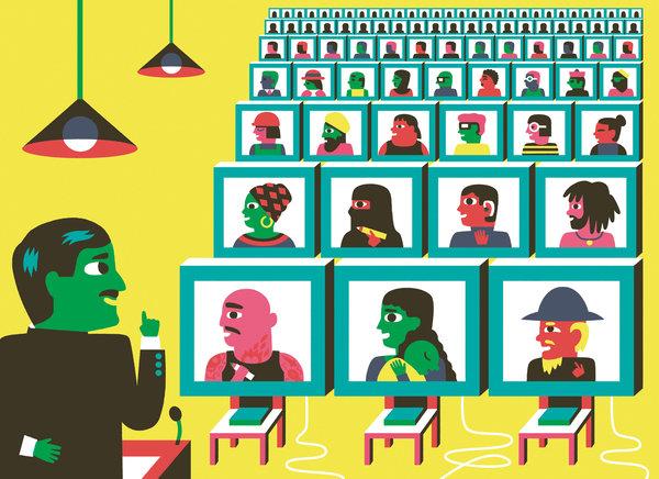 La educación virtual una opción real para gente ocupada