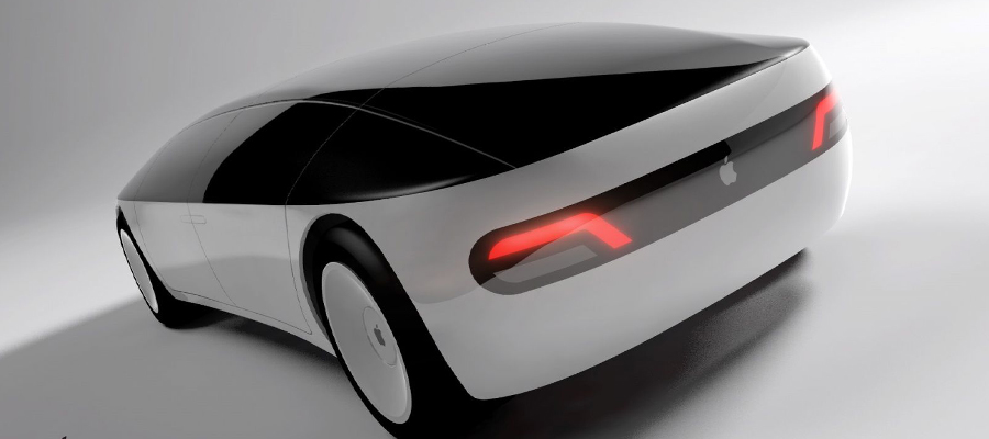 carro de apple, automovil de apple