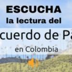El audio del Acuerdo de Paz en Colombia - Ya no tienes que leer todas las páginas