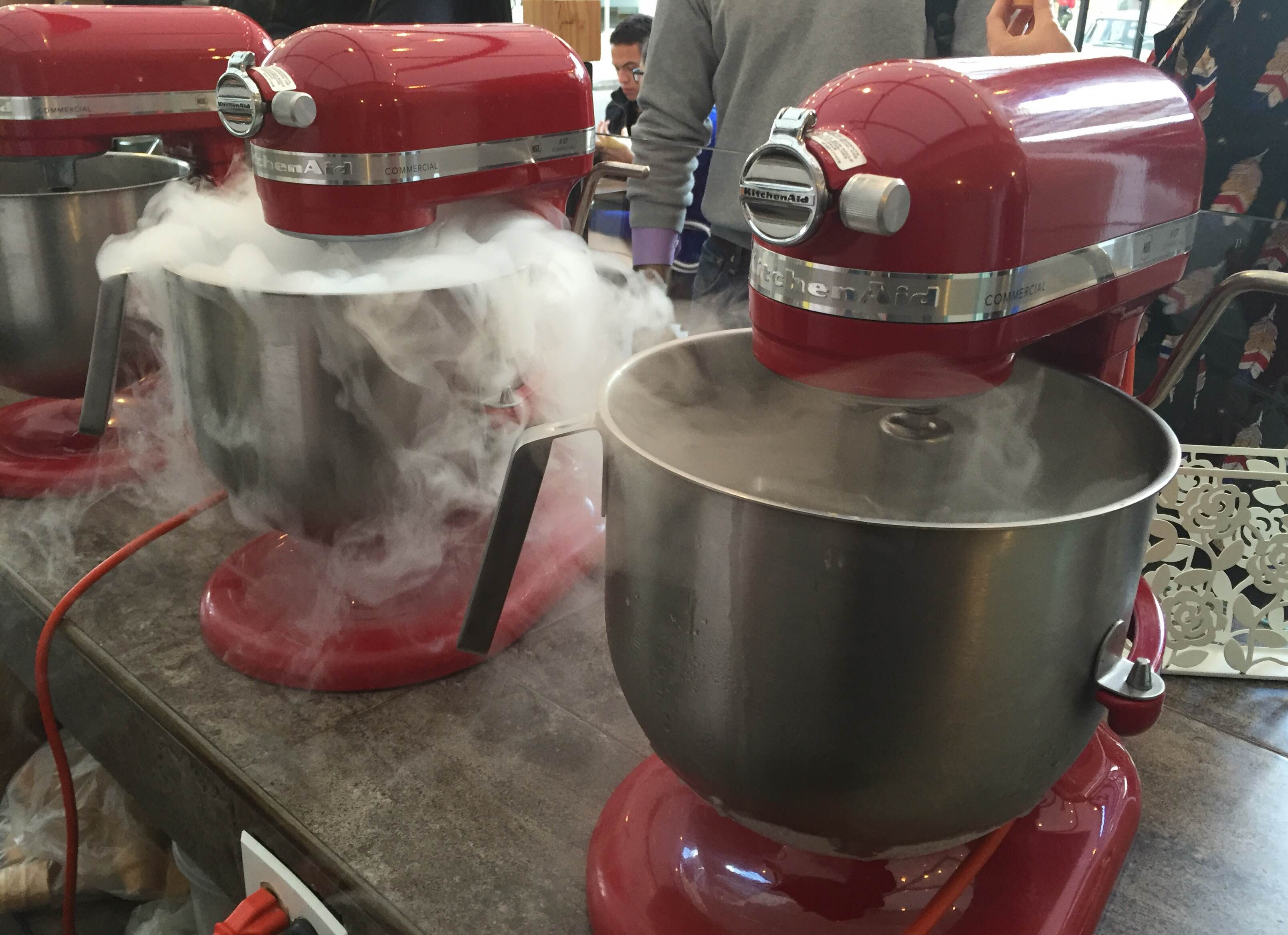 Mist - Maquinas helado de Nitrogeno