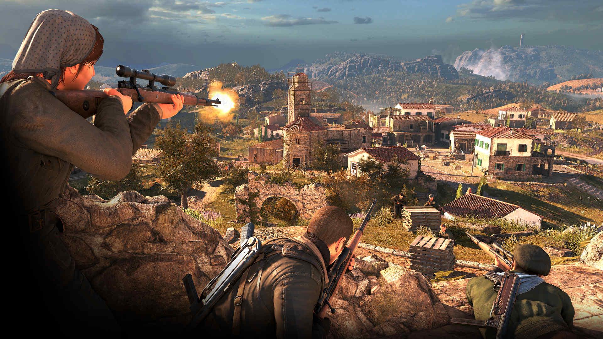 Sniper Elite 4, Revive la Segunda Guerra Mundial con escenarios más realistas