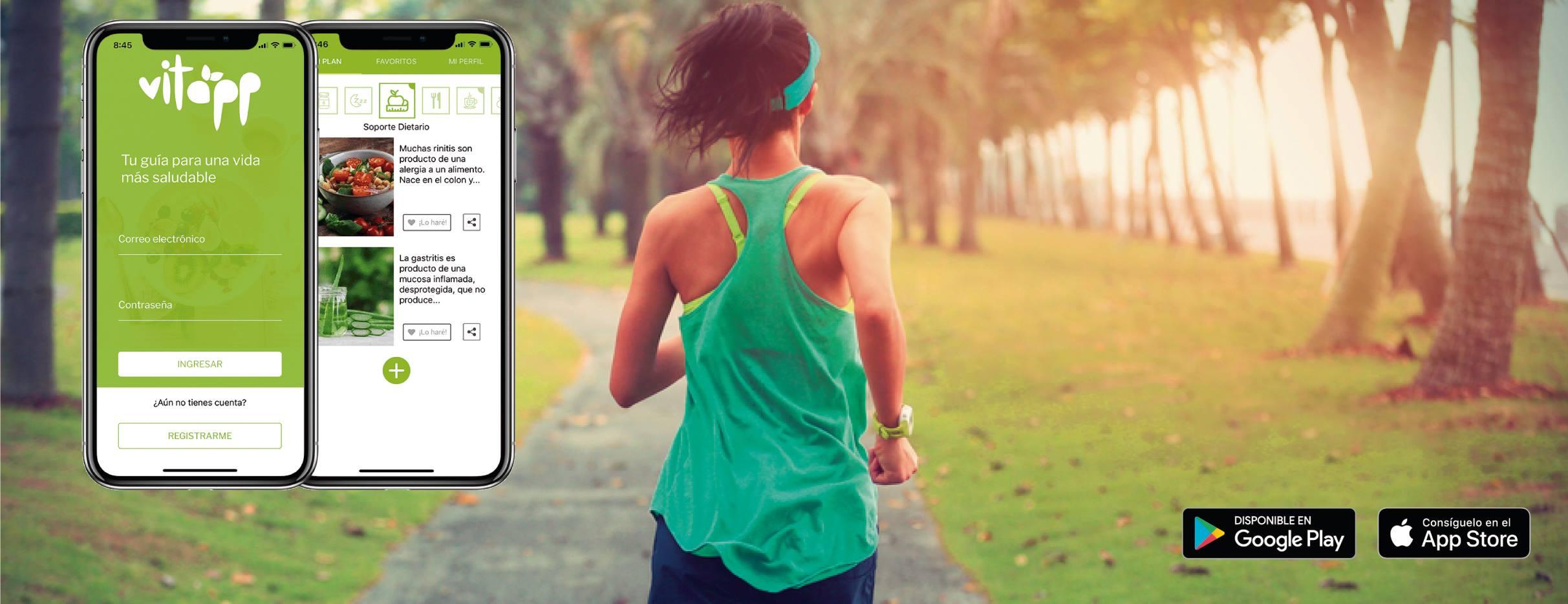 vitapp recomendaciones personalizadas para la salud, vitapp aplicación